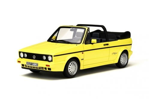 VW Golf 1 Cabrio Young Line 1:18 Otto Mobile
