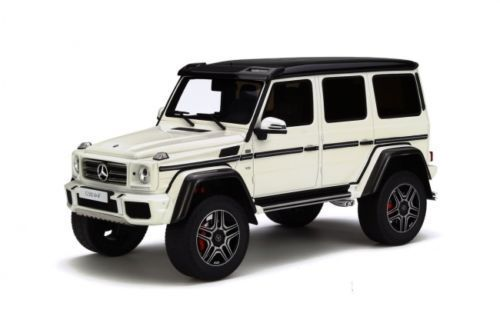 Mercedes Benz G500 4x4 Diamond white 1:18 GT-Spirit