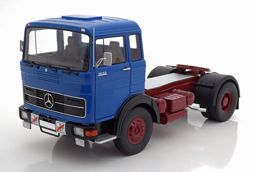Road Kings Mercedes Benz LPS 1632 1969 blue/black/red Neu & OVP 1:18