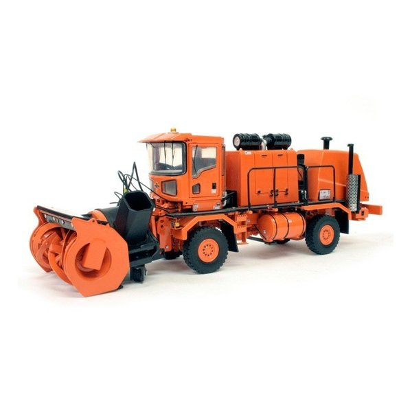 Oshkosh H-Series Schneeräumer+Fräße orange