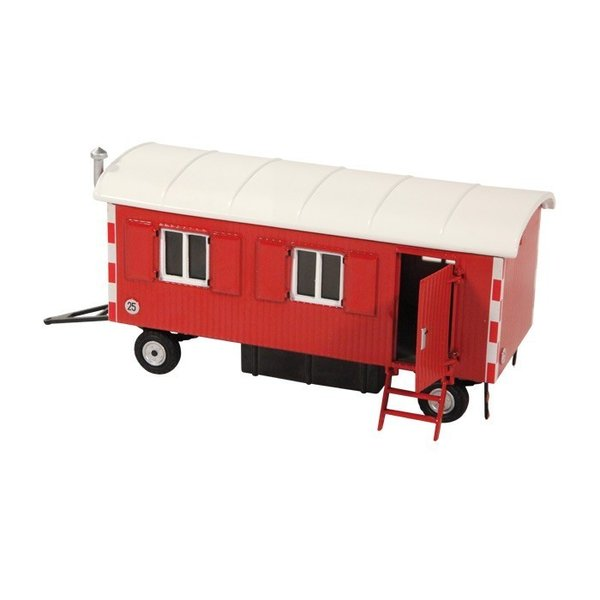 "Construction trailer ""red"" 1:50"